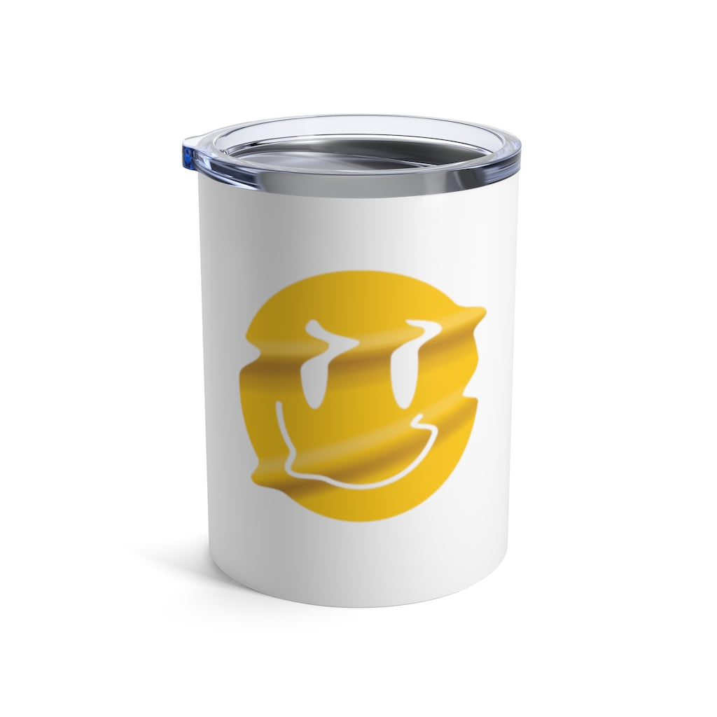 Distorted Smiley Tumbler