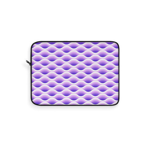 Electric Wave Amethyst Laptop Sleeve