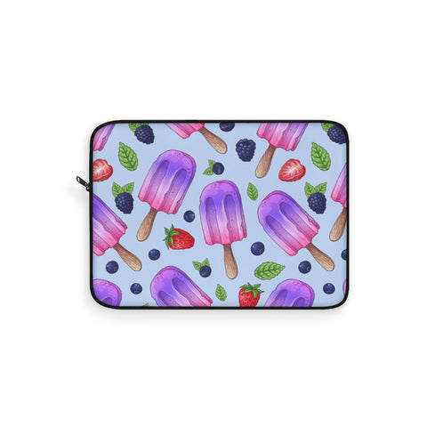 Wild Berries Ice Cream Laptop Sleeve