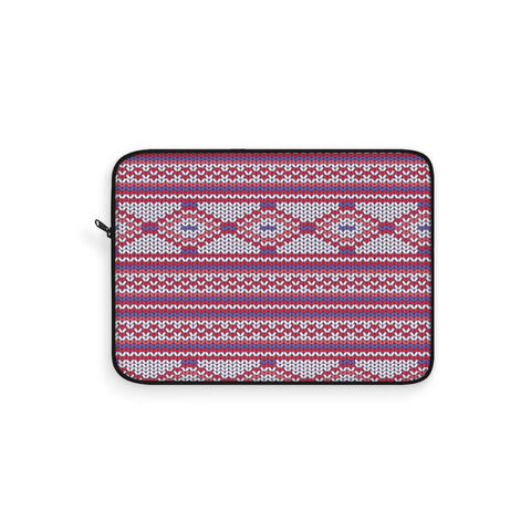 Knit Fushsia Laptop Sleeve