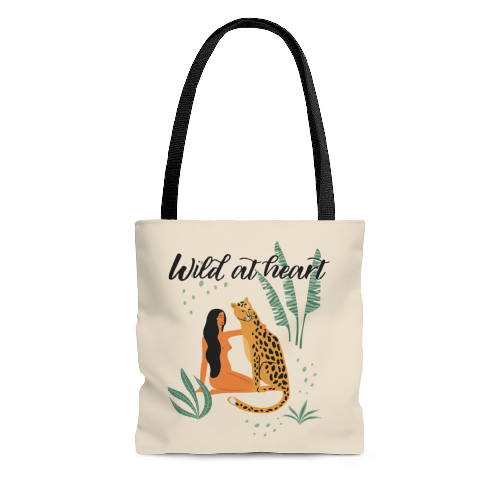 Wild At Heart Tote Bag