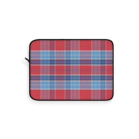 Tartan Crimson Laptop Sleeve