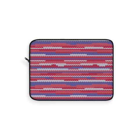 Knit Crimson Laptop Sleeve