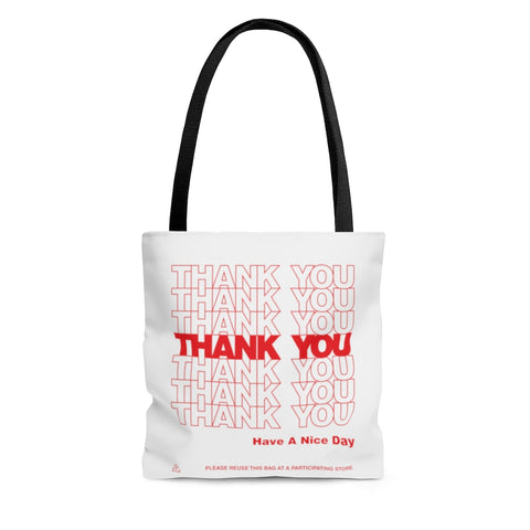 Thank You Thank You Tote Bag