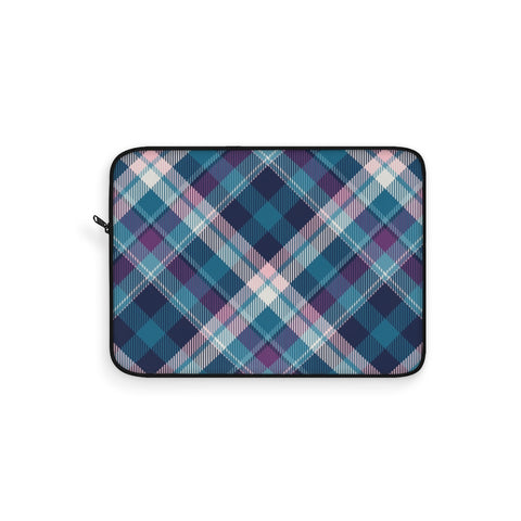 Tartan Argyle Peacock Laptop Sleeve