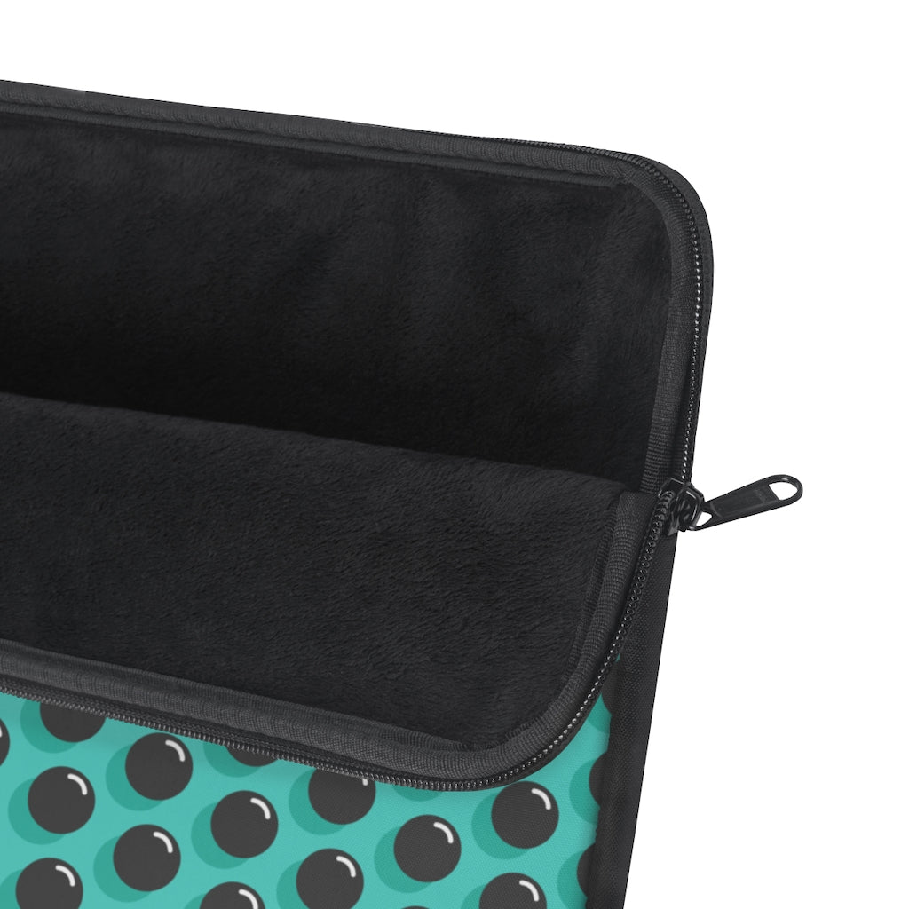 Black Dot Laptop Sleeve