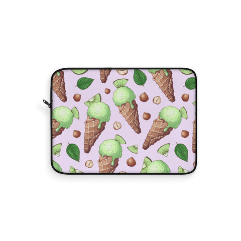 Kiwi Mint Ice Cream Laptop Sleeve