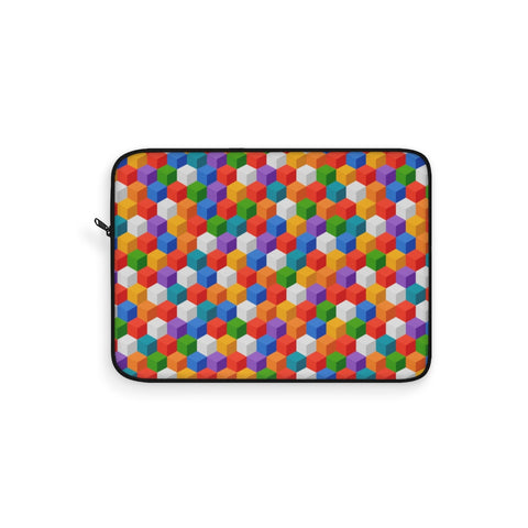 Color Cubes Laptop Sleeve
