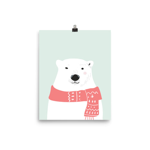 Mr. Polar Bear Poster