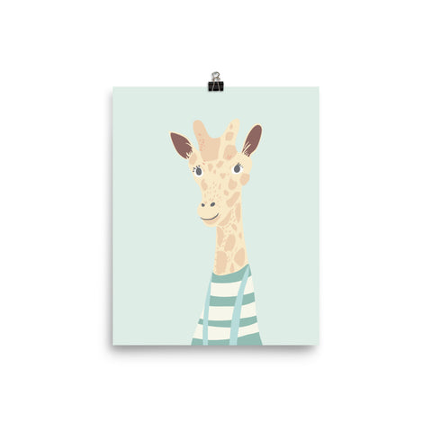 Mr. Giraffe Poster