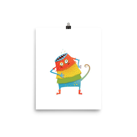 Whimsical Creatures Poster