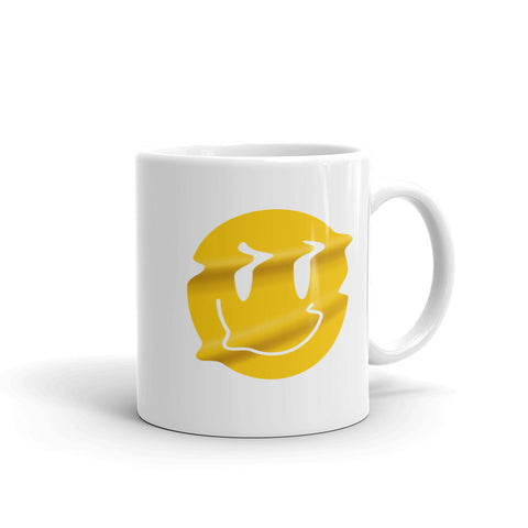 Distorted Smiley Mug