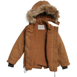 Wheat - Jacket Julian Tech, caramel