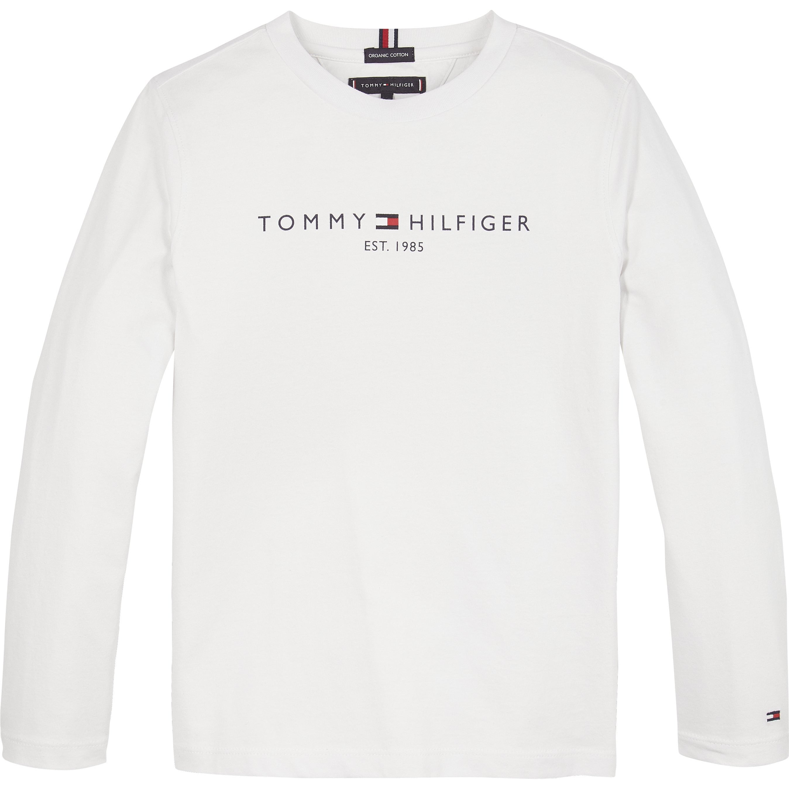 Tommy Hilfiger - Essential tee l/s, white - 3