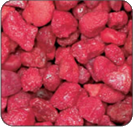 Currant Red Colored Gravel