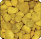 Daffodil Yellow Colored Gravel
