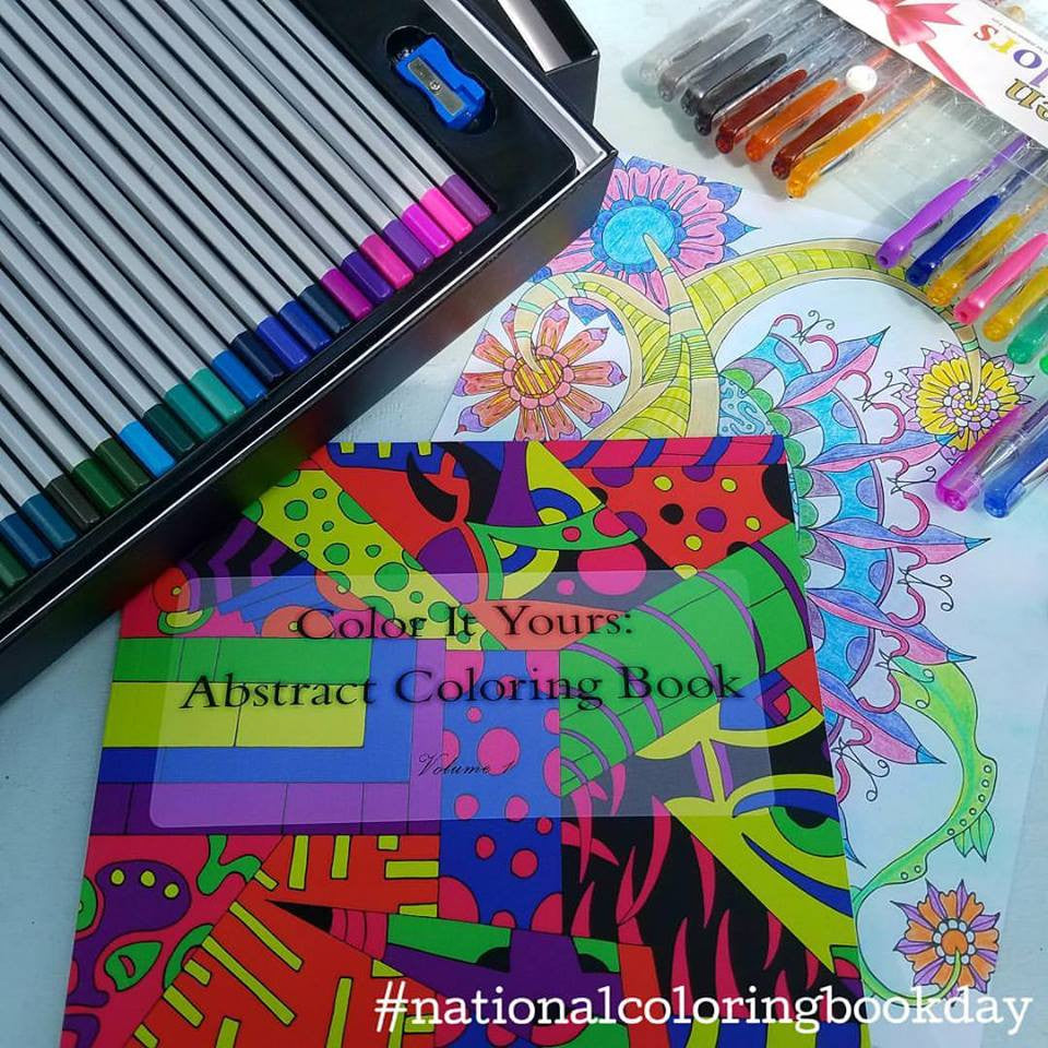 Our Favorite Ways to Celebrate National Coloring Book Day