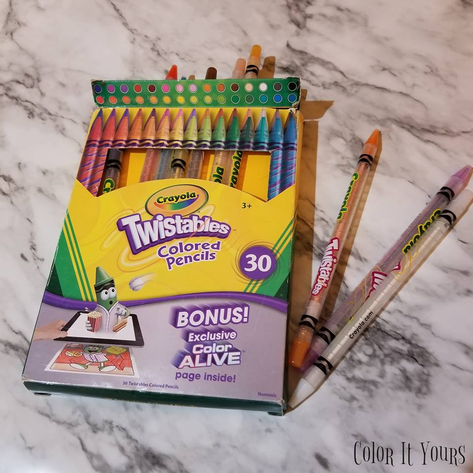 Product Review: Crayola Twistables Colored Pencils
