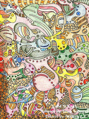 Color It Yours: Abstract Coloring Book Volume 1