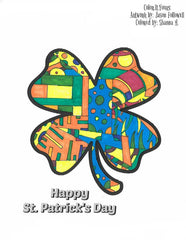 Color It Yours St. Patrick's Day Coloring Page