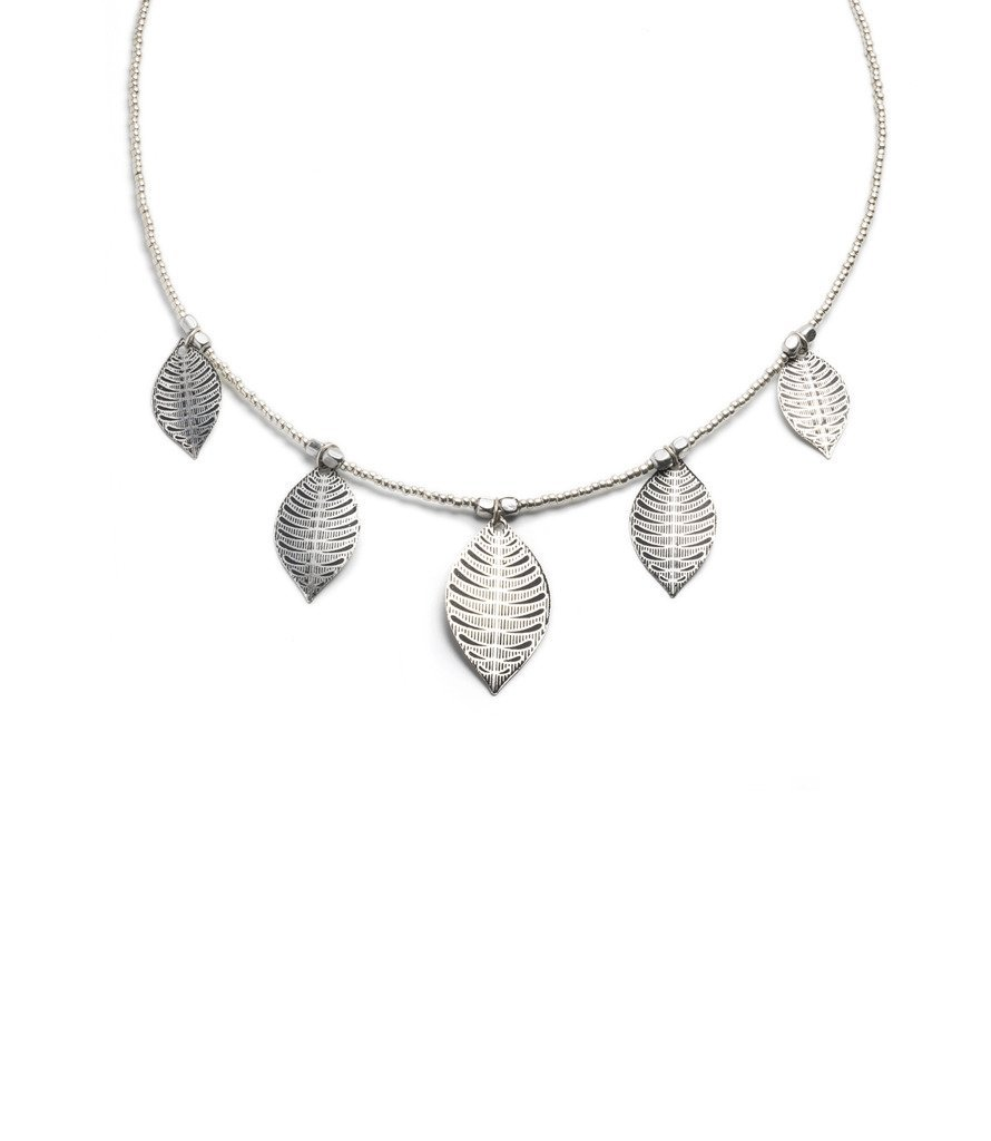 Sanctuary Necklace - Silvertone - Matr Boomie (Jewelry)