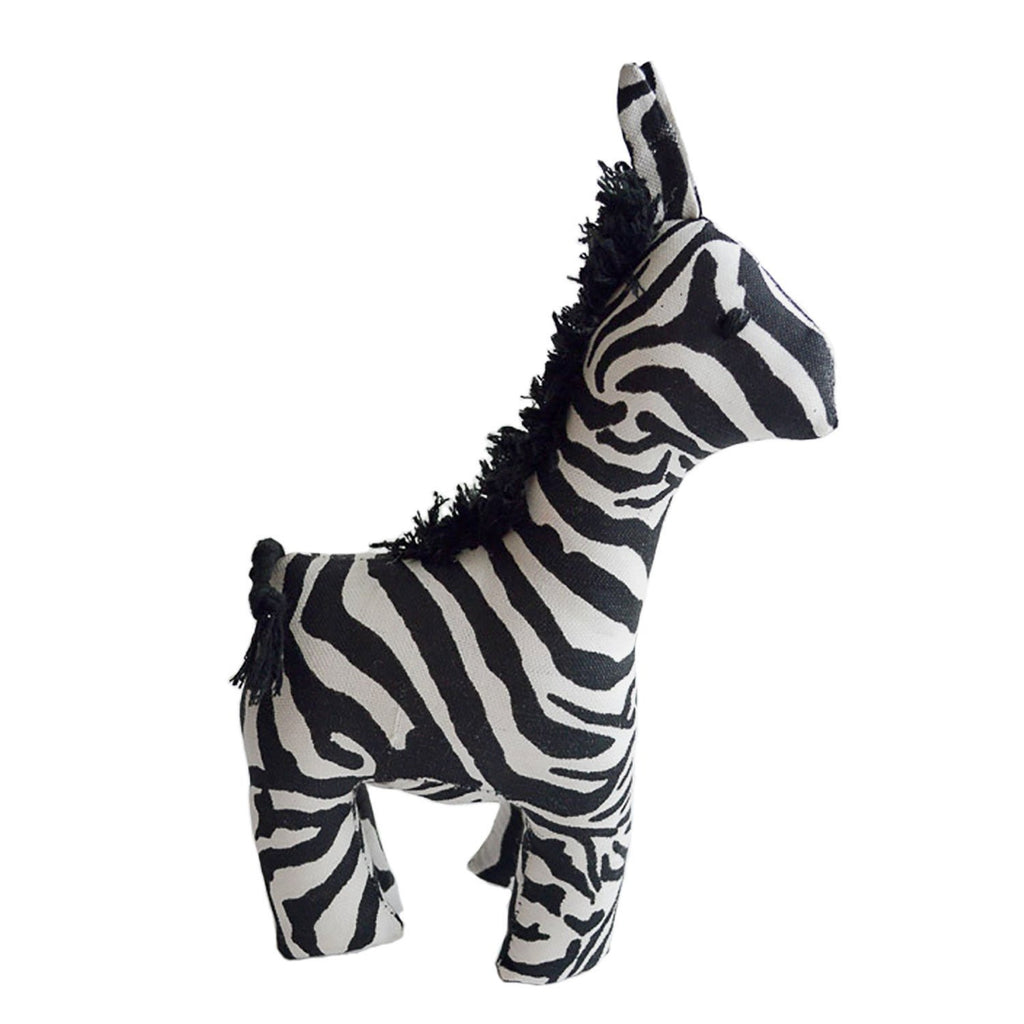 Safari Stuffed Animal Large Zebra - Imani Workshop (G)