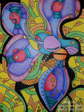 Color It Yours Abstract Coloring Book (Volume 1)