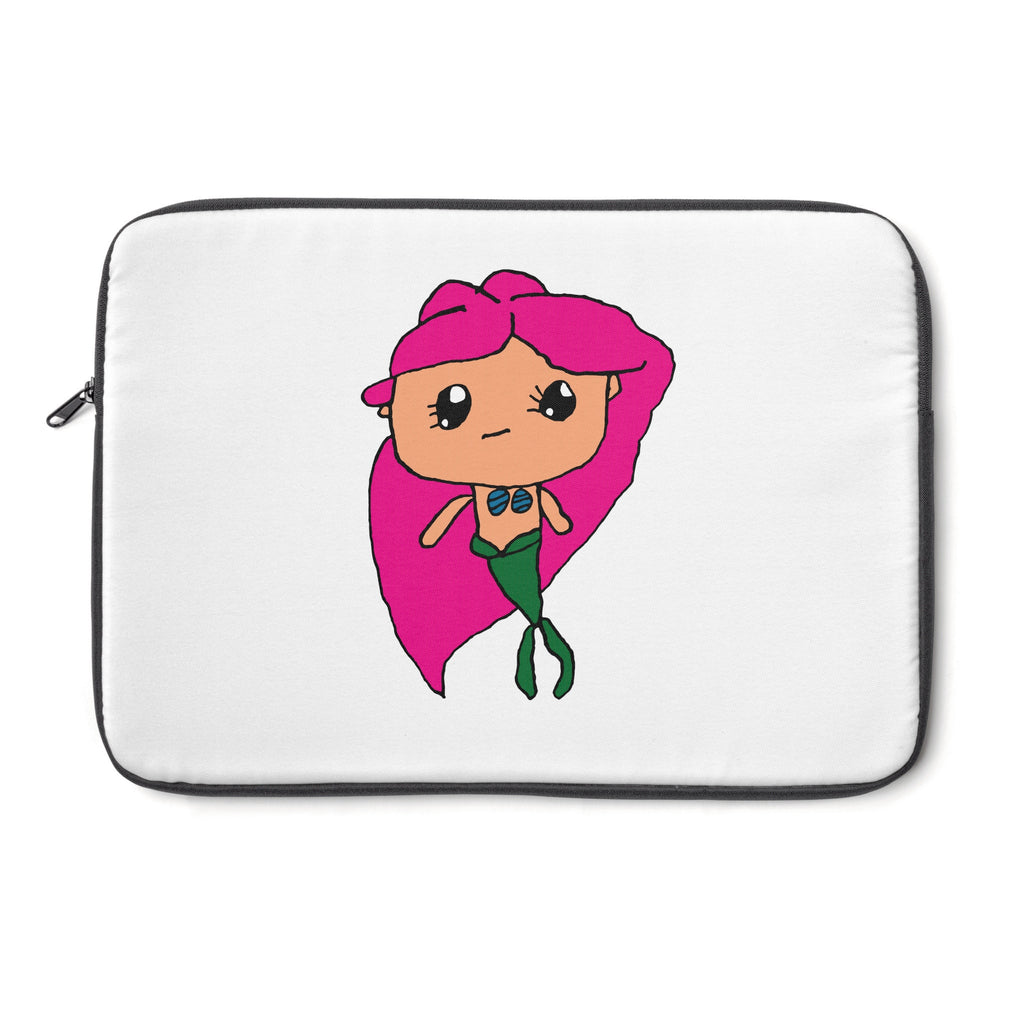 Kendrick's Kreations Mermaid Laptop Sleeve (Pink Hair)