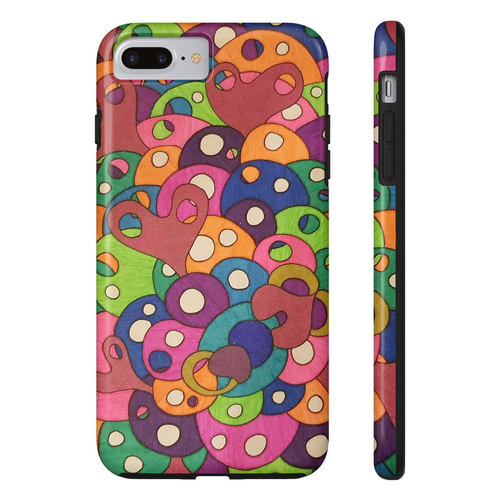 Color It Yours: Abstract Tough iPhone 7 Plus (Design #49CF)
