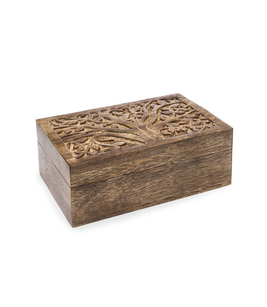 Aranyani Mango Wood Treasure Box - Matr Boomie (B)