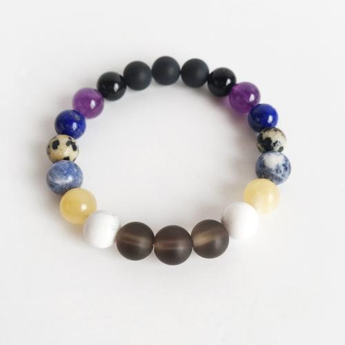 Total Renewal Mix ~ Genuine Gemstone Mix Bracelet