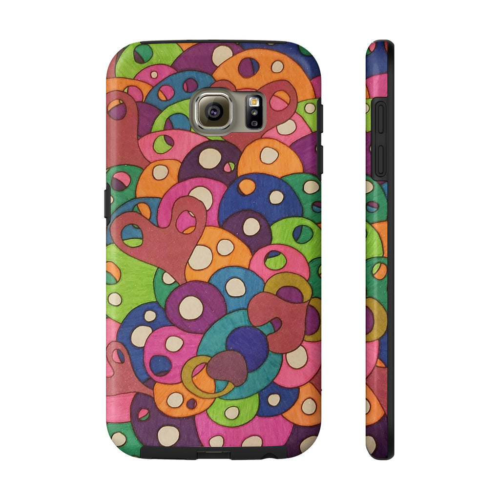 Color It Yours: Abstract Tough Samsung Galaxy S6 (Design #49CF)
