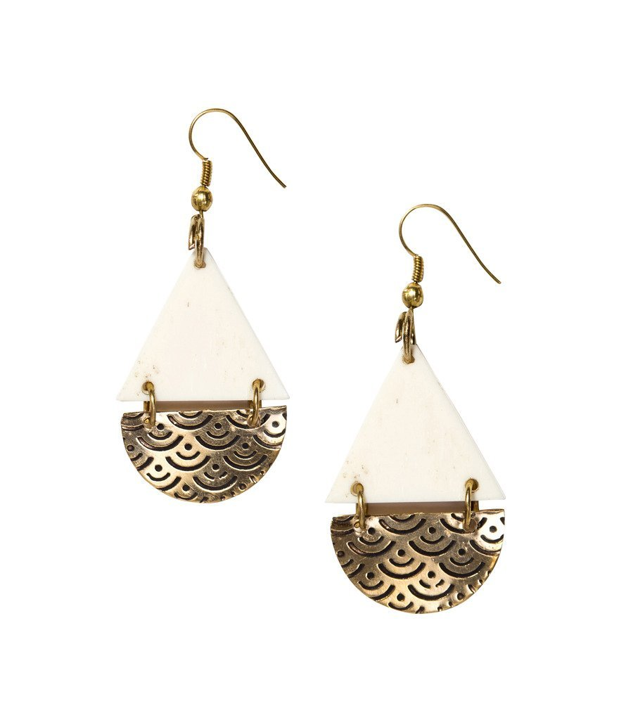 Anika Earrings Teardrop Design - Matr Boomie (Jewelry)