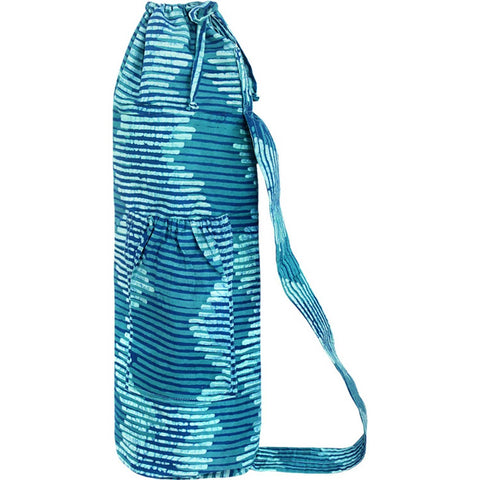 Yoga Bag Energy Design Teal - Global Mamas (Y)