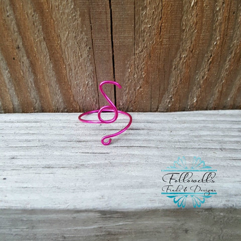 Music Note Midi Ring