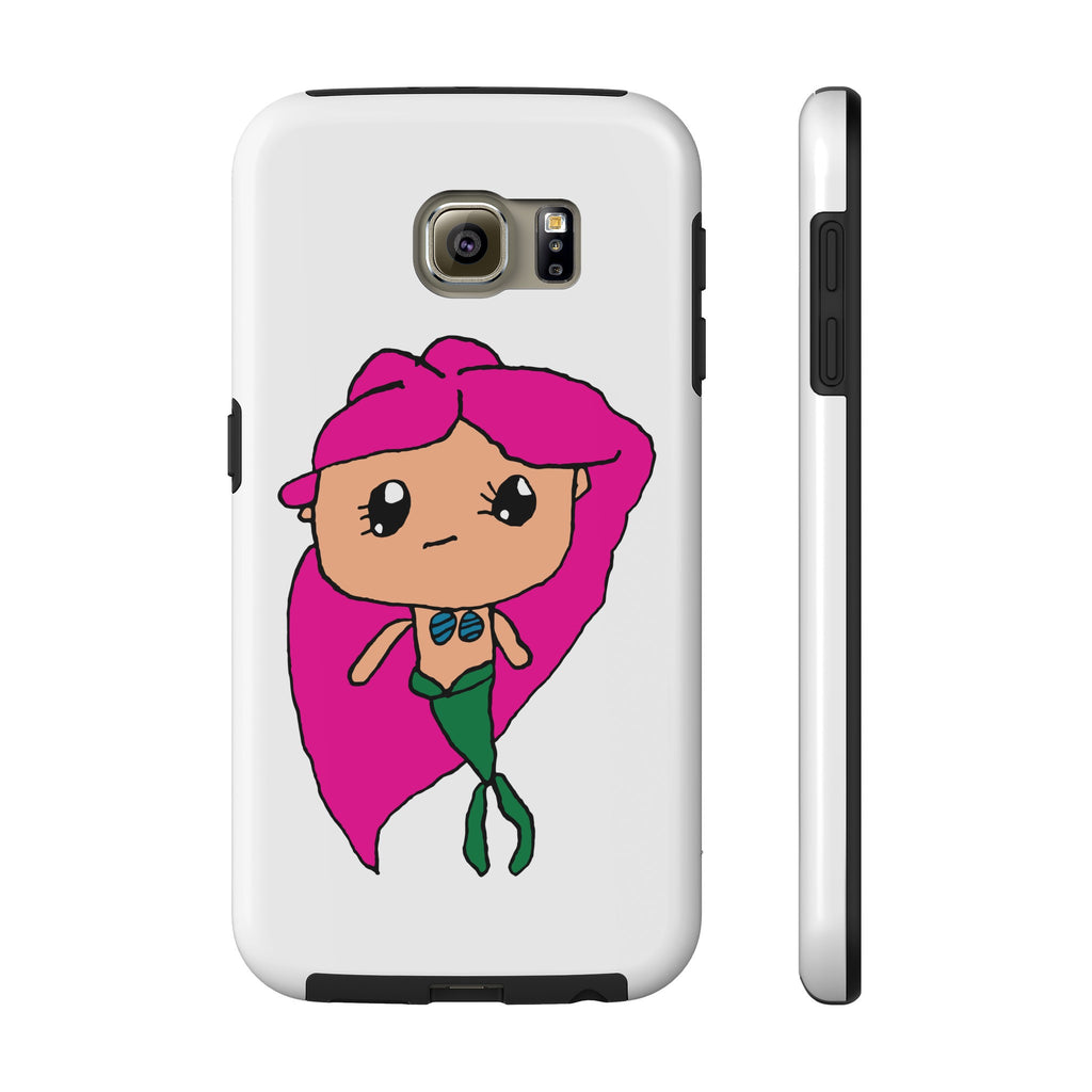 Kendrick's Kreations Mermaid Tough Samsung Galaxy S6 (Pink Hair)