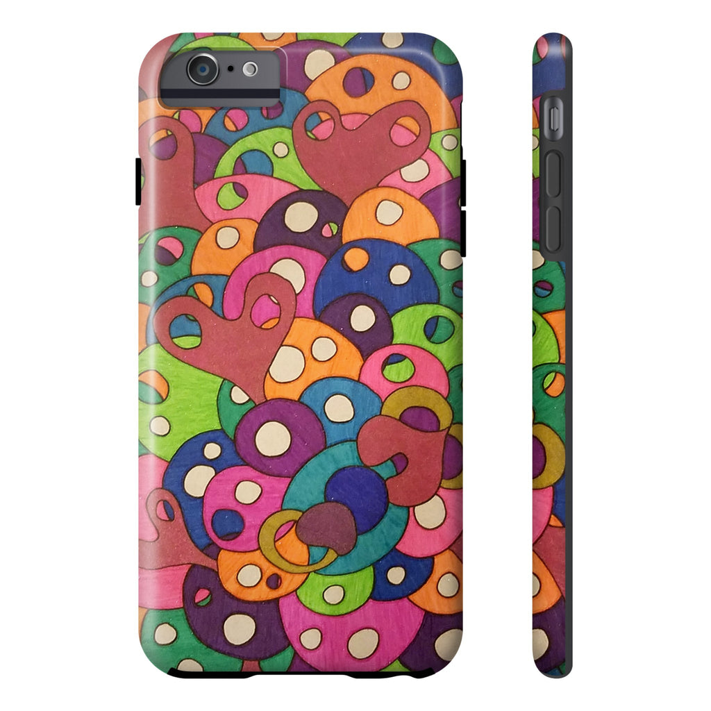 Color It Yours: Abstract Tough Iphone 6/6s Plus (Design #49CF)