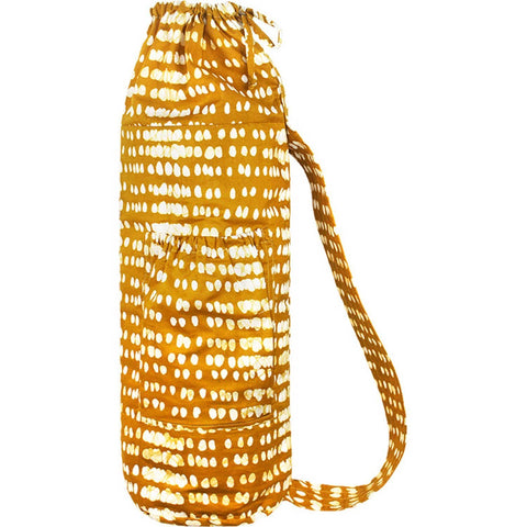 Yoga Bag Monsoon Design Mustard - Global Mamas (Y)