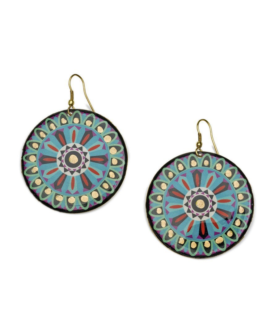 Bollywood Earrings - Ashoka - Matr Boomie (Jewelry)