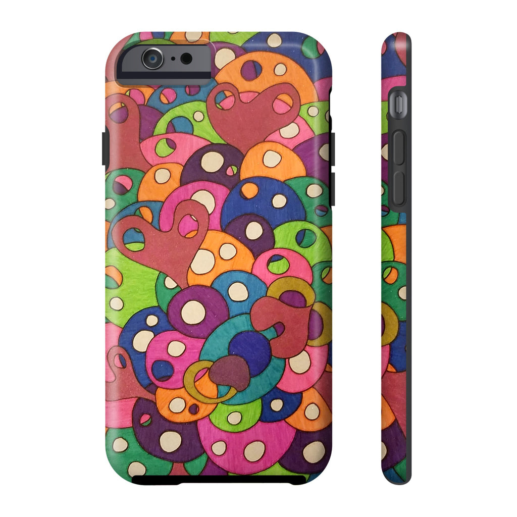 Color It Yours: Abstract Tough Iphone 6/6s (Design #49CF)