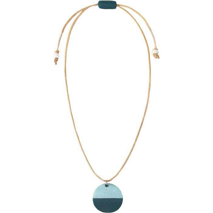 Sahel Necklace Teal - Global Mamas (Jewelry)