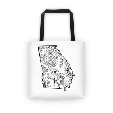 Color It Yours: Georgia Tote Bag