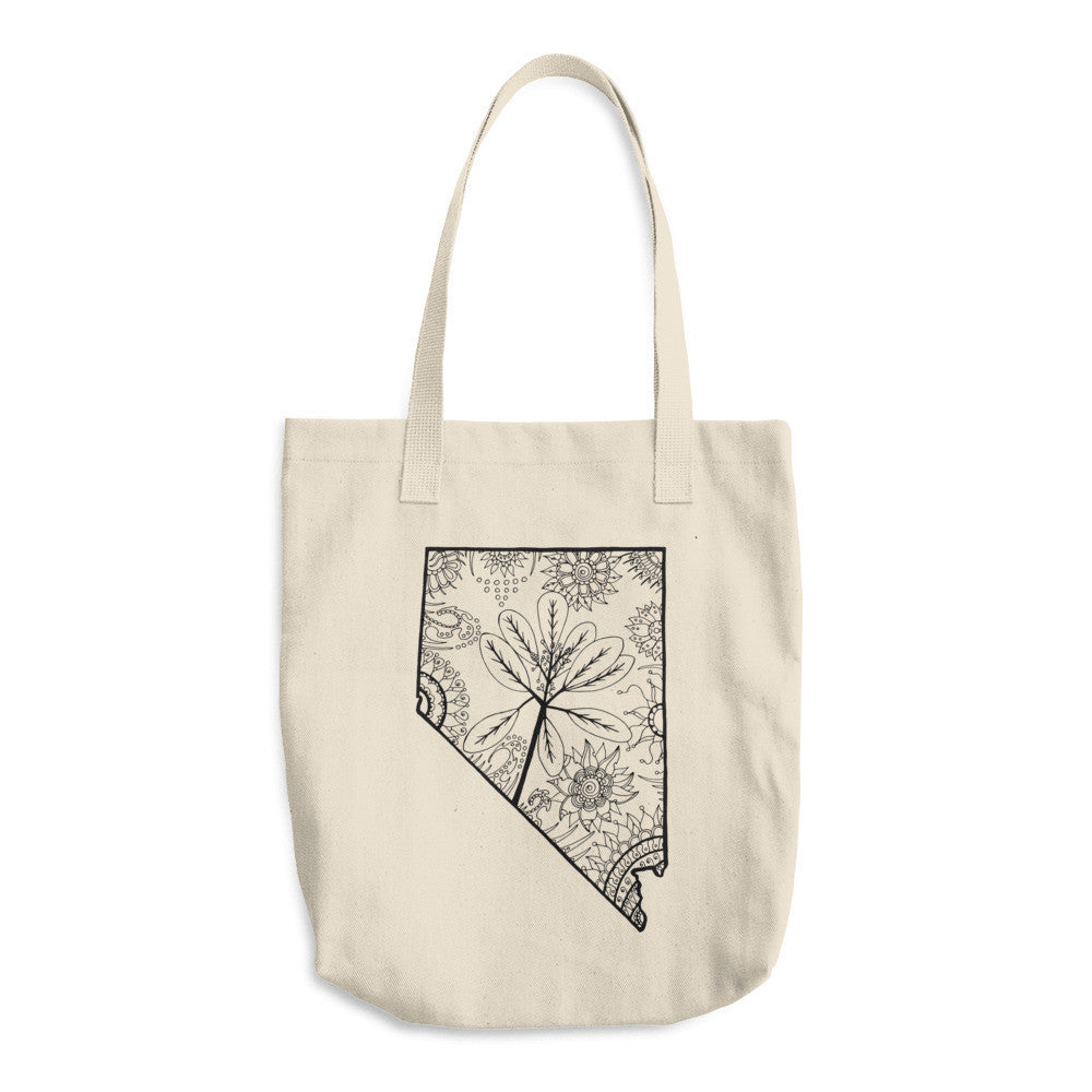 Color It Yours: Nevada Cotton Tote Bag