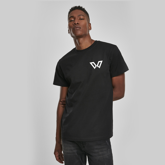 DEEP WOODS Unisex T-Shirt Black (Reflective Print)