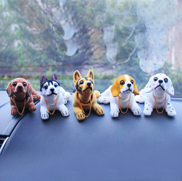 Lovely Dog Car Decoration Cute Creative Gift