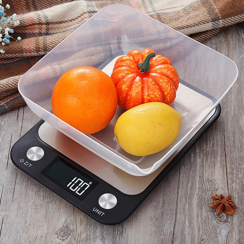 LCD Display Multi-function Digital Food Kitchen Scale