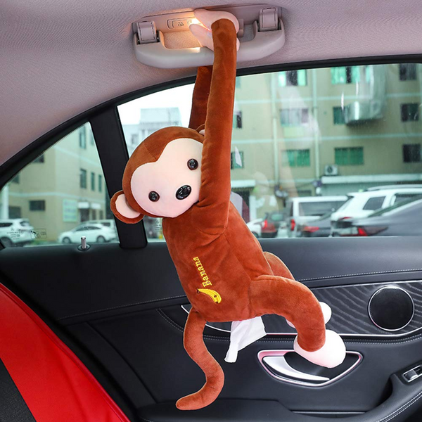 PIPI Monkey Toy Style Tissue Holder