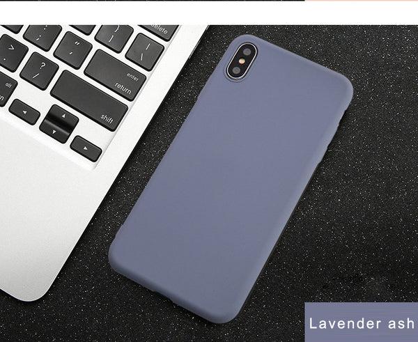 Silicone Multicolor Case For iPhone Series