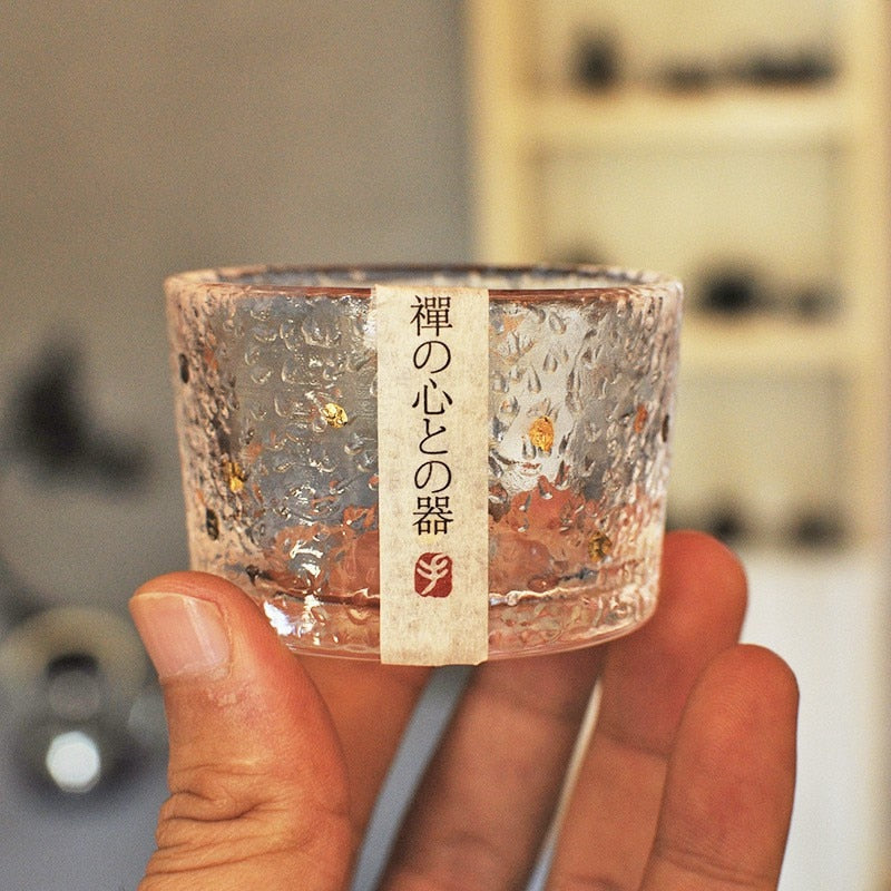 Japanese Glass Wine Cup Tea Cup