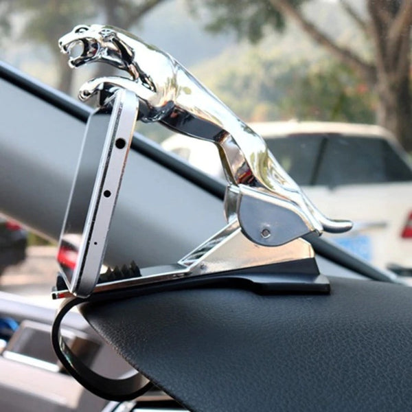 Car Leopard Dashboard Phone Holder